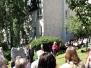 Odhalení pomníku obětem holocaustu
